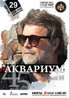 Афиша концерта Борис Гребенщиков