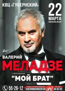 Афиша концерта Валерий Меладзе