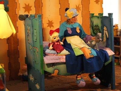 Афиша спектакля Про котёнка, про мышонка, про бессонного ребёнка