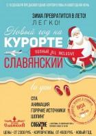 Новогодняя ночь в Славянском