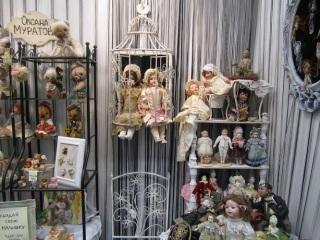 Экспозиция музея кукол в Костроме