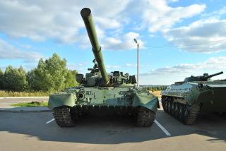Танк в музее военной техники в Костроме