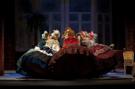 Спектакль Дядюшкин сон в театре Островского в Костроме