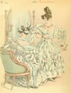 Бальные костюмы 30-40х годов XIX века. Современные особенности изготовления