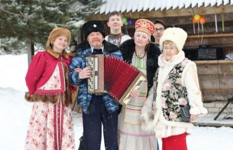 Масленица в Русиново