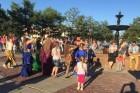 Городская танцевальная площадка