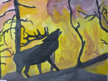 Береги лес от огня!