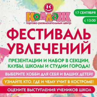 Афиша Фестиваль увлечений