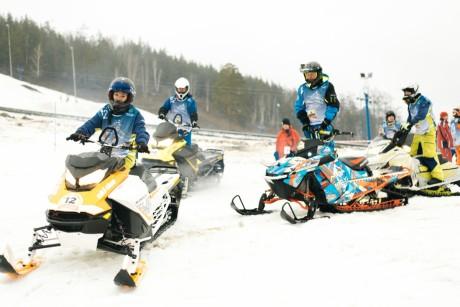 Афиша Биатлон на снегоходах