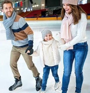 Где покататься на коньках и лыжах в Костроме