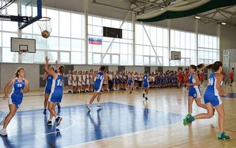 Афиша Всероссийские соревнования по баскетболу