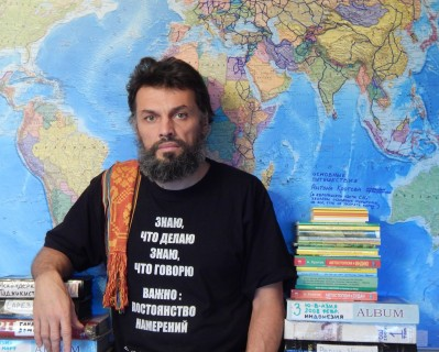 Афиша встречи Встреча-лекция с путешественником Антоном Кротовым