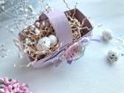 Корзиночка для пасхальных яиц