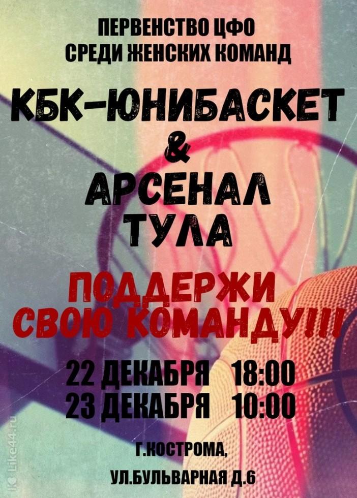 Баскетбол. КБК-юнибаскет & Арсенал Тула