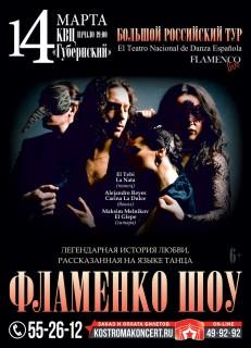 Афиша концерта Фламенко Шоу