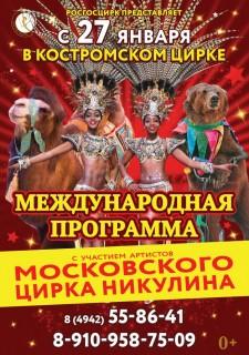 Московский цирк Никулина и цирк Кении