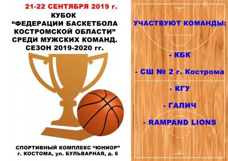 Афиша Баскетбол среди мужских команд