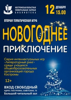Афиша Новогоднее приключение